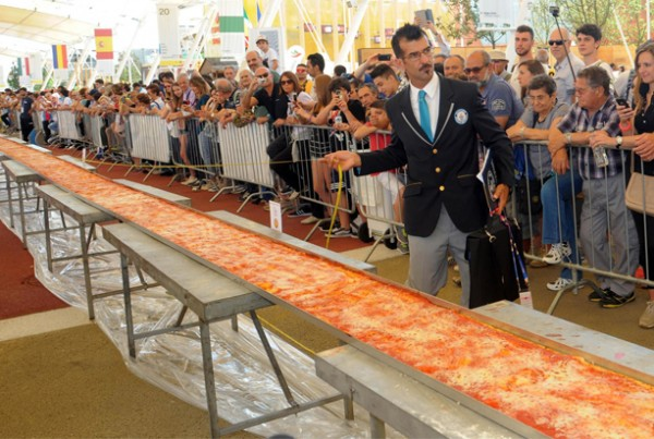 Italy Mile Long Pizza