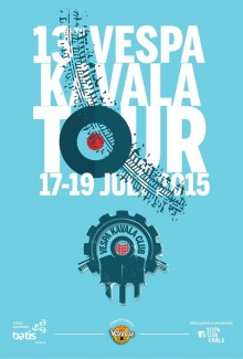 13th Vespa Kavala Tour