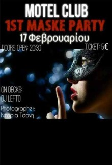 1st Maske Party