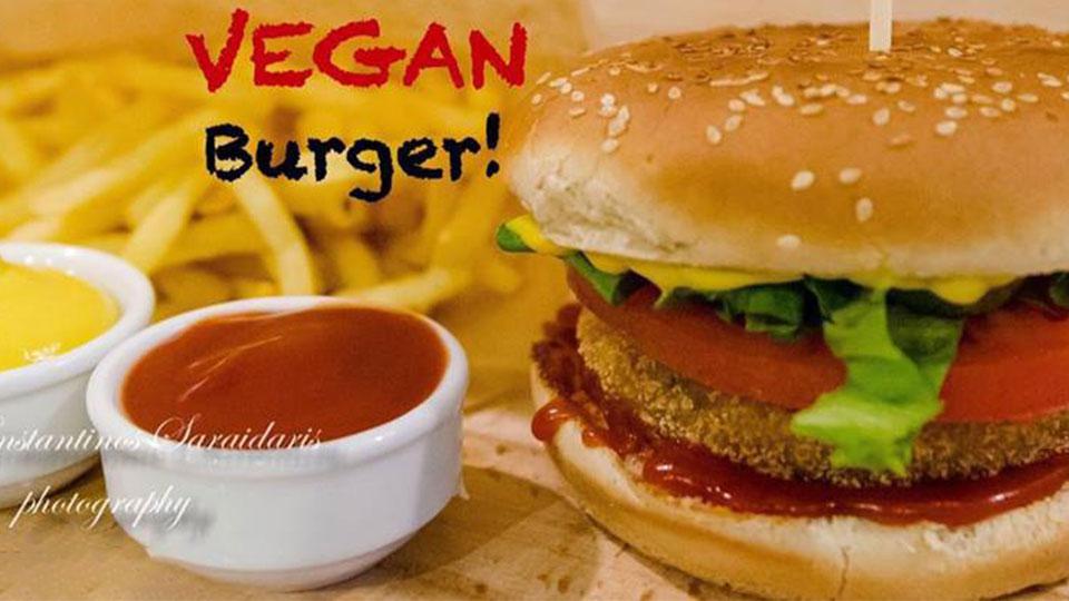 Citypedia.gr - Stasi - Delivery - Kavala - vegan - burger
