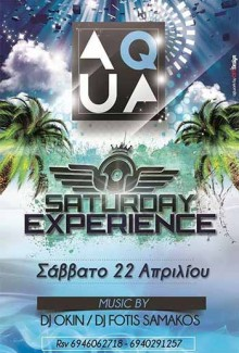 Saturday Experience