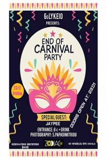6o Presents: End Of Carnival Party